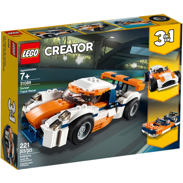LEGO Creator Sets: 31089 Sunset Track Racer NEW