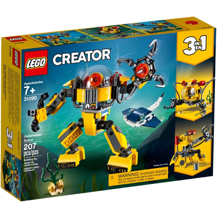 LEGO Creator Sets: 31090 Underwater Robot NEW
