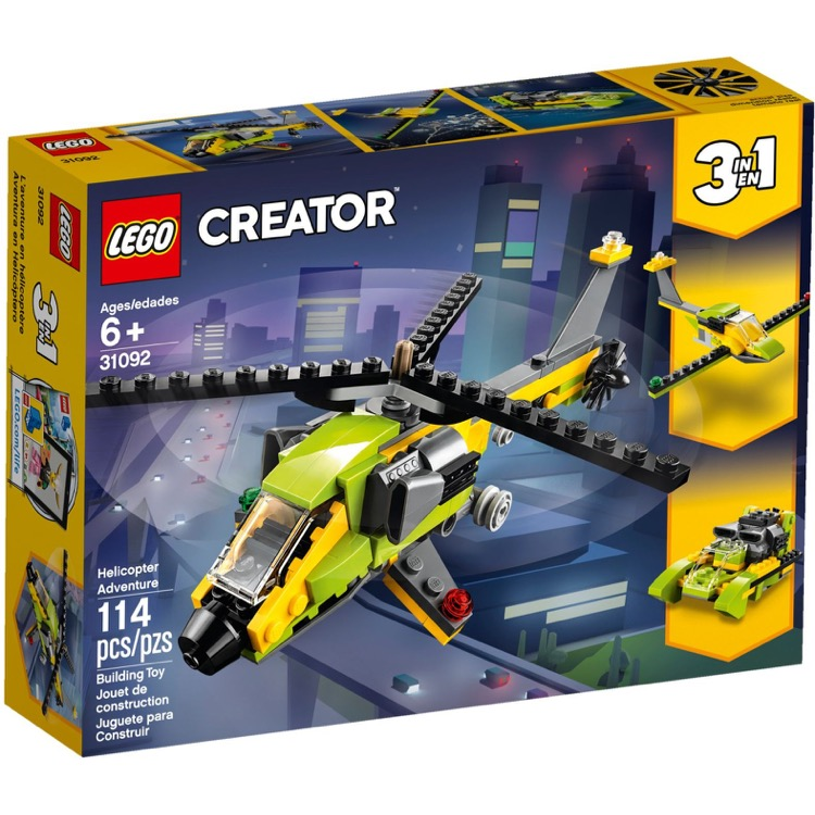 LEGO Creator Sets: 31092 Helicopter Adventure NEW