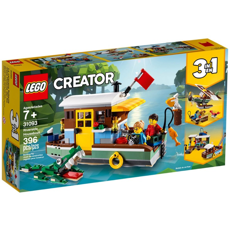 LEGO Creator Sets: 31093 Riverside Houseboat NEW