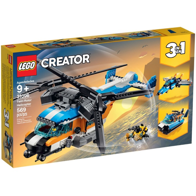 LEGO Creator Sets: 31096 Twin-Rotor Helicopter NEW
