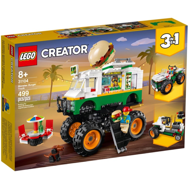 LEGO Creator Sets: 31104 Monster Burger Truck NEW