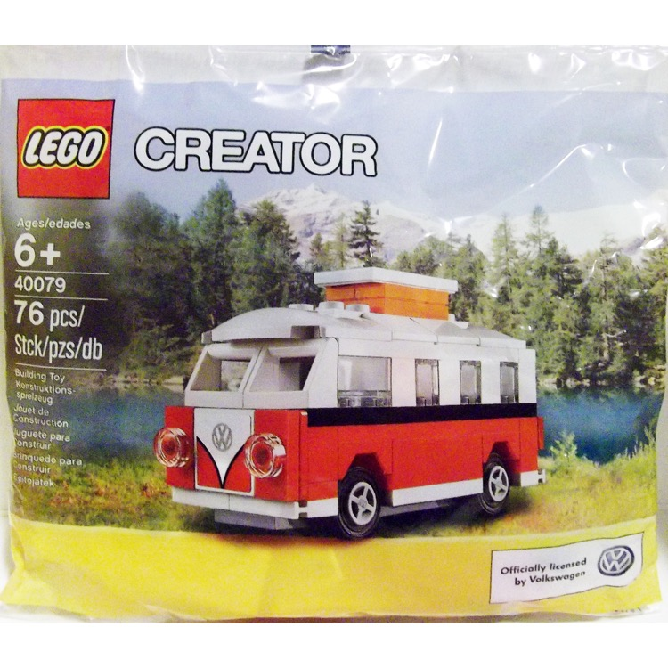LEGO Creator Sets: 40079 Mini VW T1 Camper Van NEW