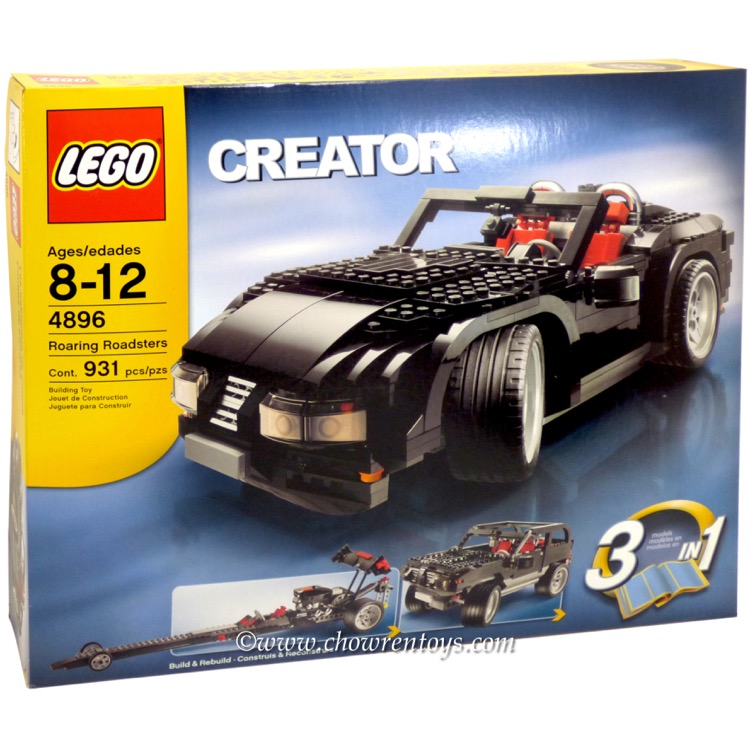 LEGO Creator Sets: 4896 Roaring Roadsters NEW