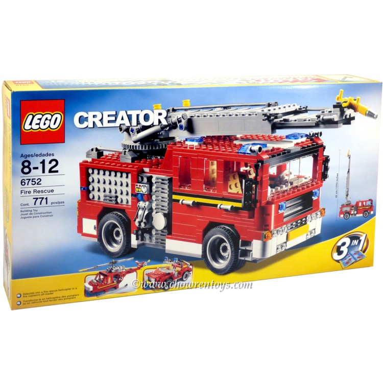 LEGO Creator Sets: 6752 Fire Rescue NEW