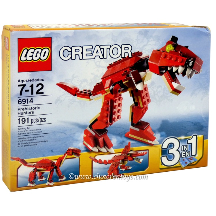 LEGO Creator Sets: 6914 T-Rex NEW *Damaged Box*