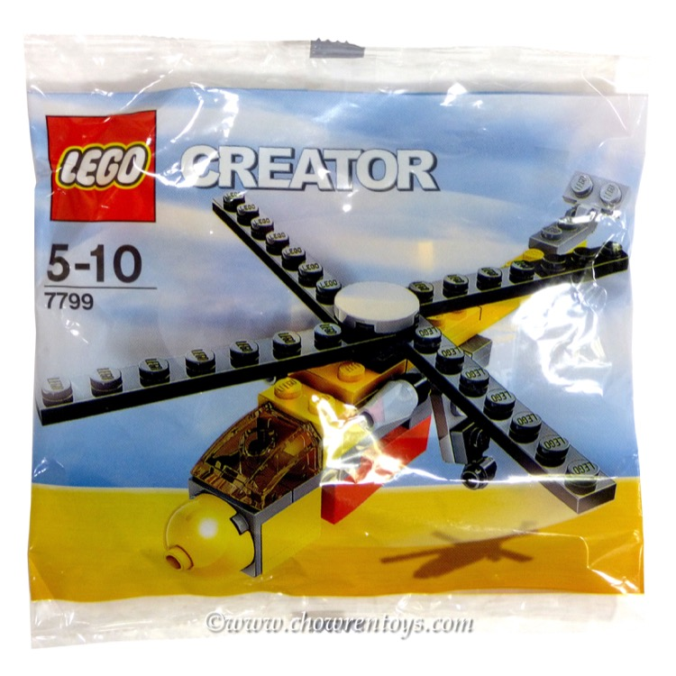 LEGO Creator Sets: 7799 Cargo Copter NEW