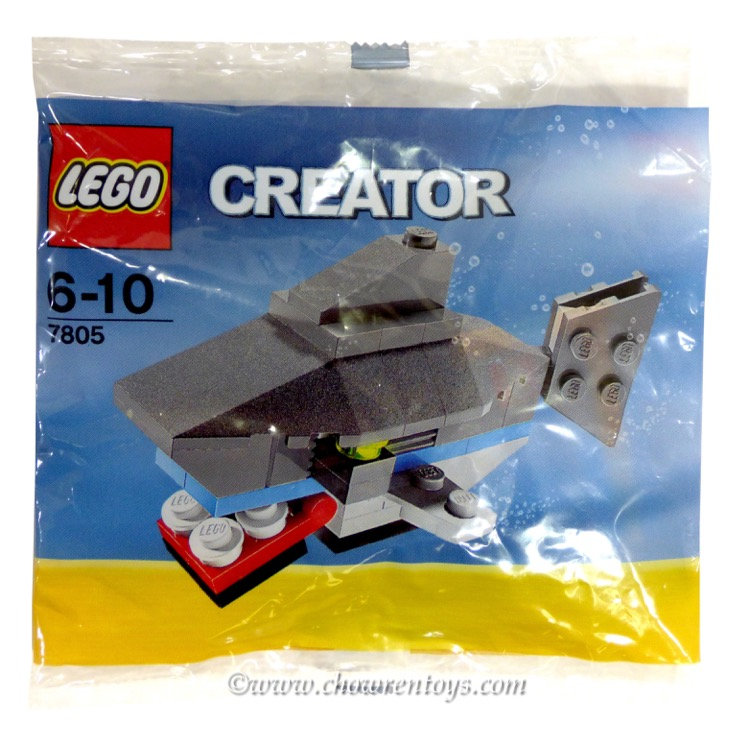 LEGO Creator Sets: 7805 Shark NEW