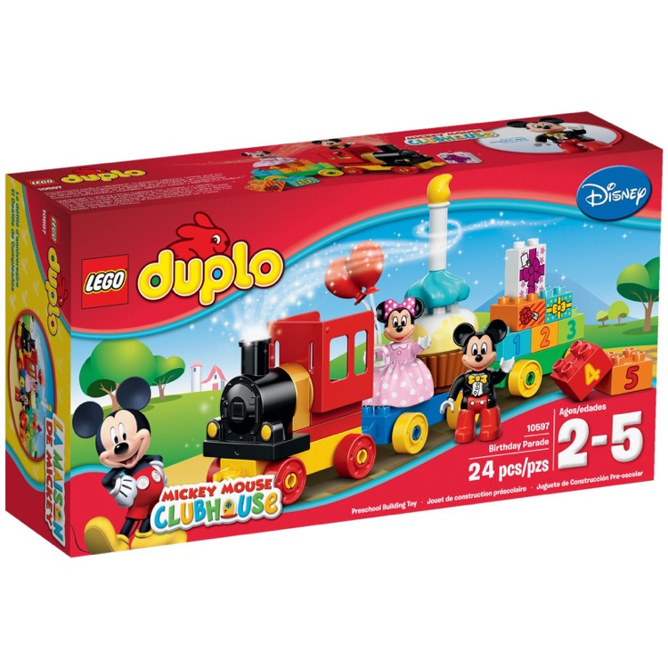 LEGO DUPLO Sets: 10597 Mickey & Minnie Birthday Parade NEW