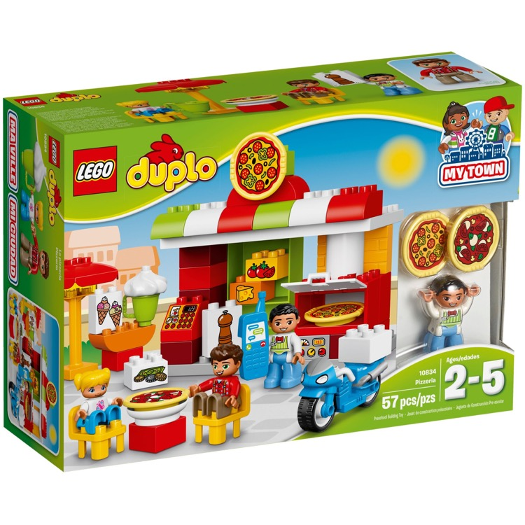 LEGO DUPLO Sets: 10834 Pizzeria NEW
