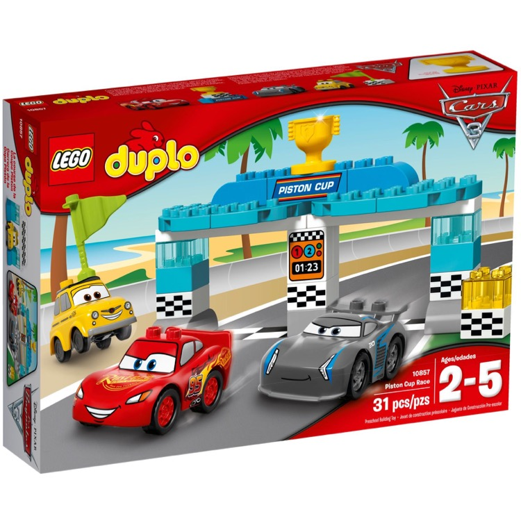 LEGO DUPLO Sets: 10857 Piston Cup Race NEW