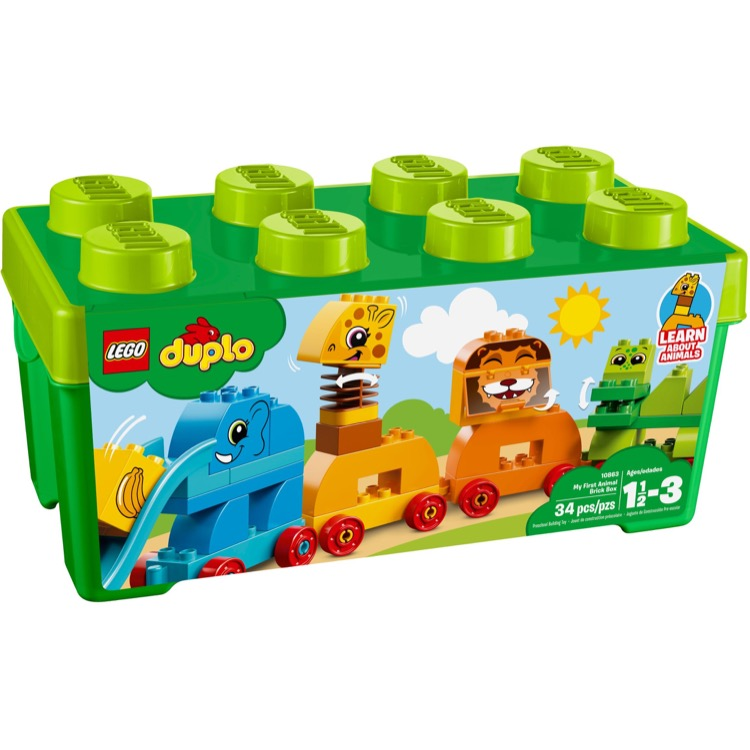 LEGO DUPLO Sets: 10863 My First Animal Brick Box NEW