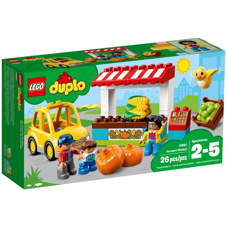 LEGO DUPLO Sets: 10867 Farmers' Market NEW