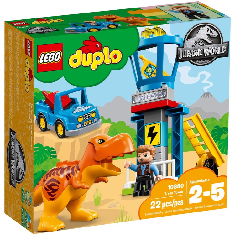 LEGO DUPLO Sets: 10880 T. Rex Tower NEW