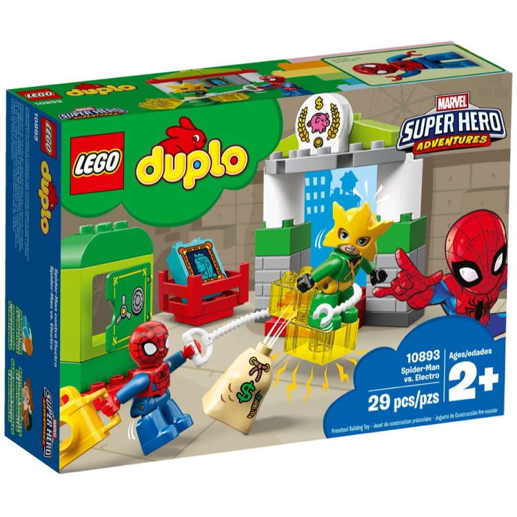 LEGO DUPLO Sets: 10893 Spider-Man vs. Electro NEW