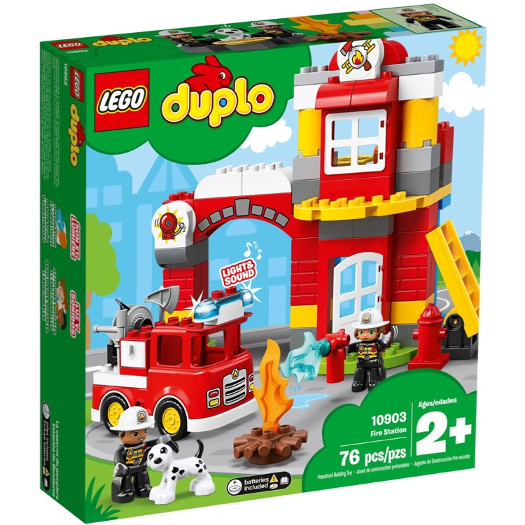 LEGO DUPLO Sets: 10903 Fire Station NEW