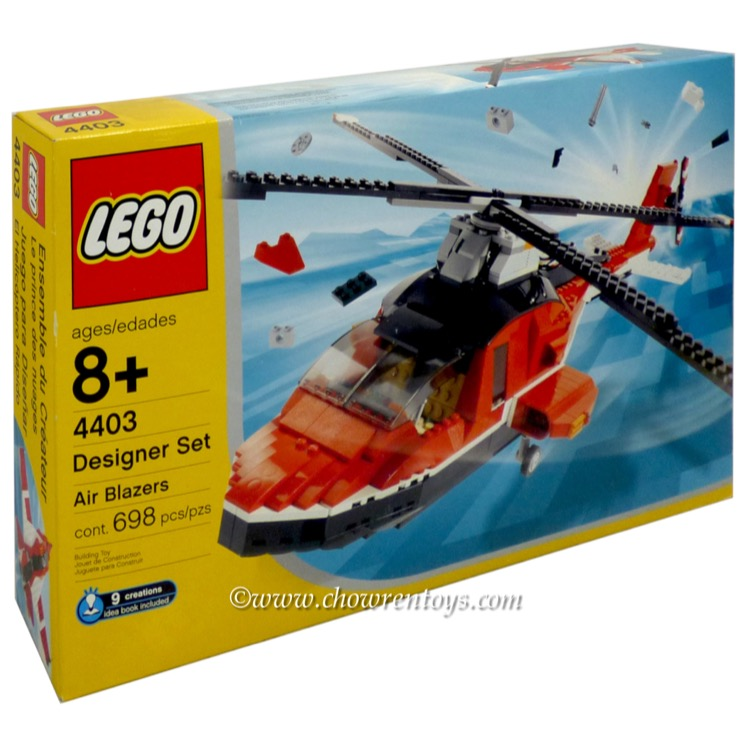 LEGO Designer Sets: 4403 Air Blazers NEW *Rough Shape*