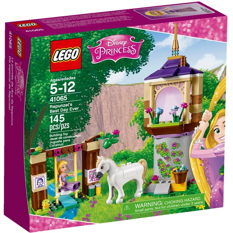 LEGO Disney Princess Sets: 41065 Rapunzel's Best Day Ever NEW