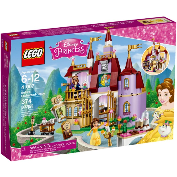 LEGO Disney Princess Sets: 41067 Belle's Enchanted Castle NEW