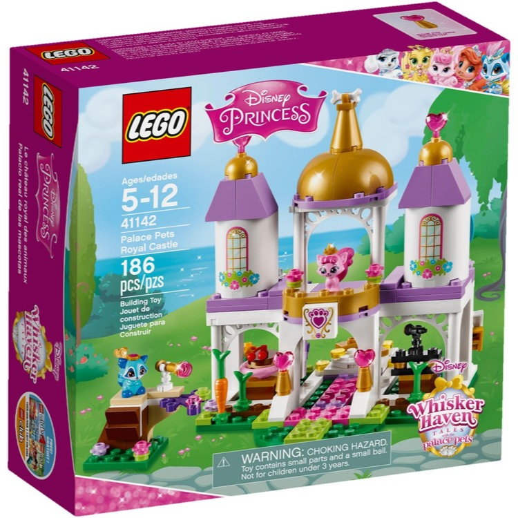 LEGO Disney Princess Sets: 41142 Palace Pets Royal Castle NEW