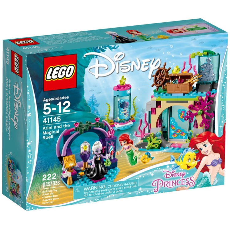 LEGO Disney Princess Sets: 41145 Ariel and the Magical Spell NEW