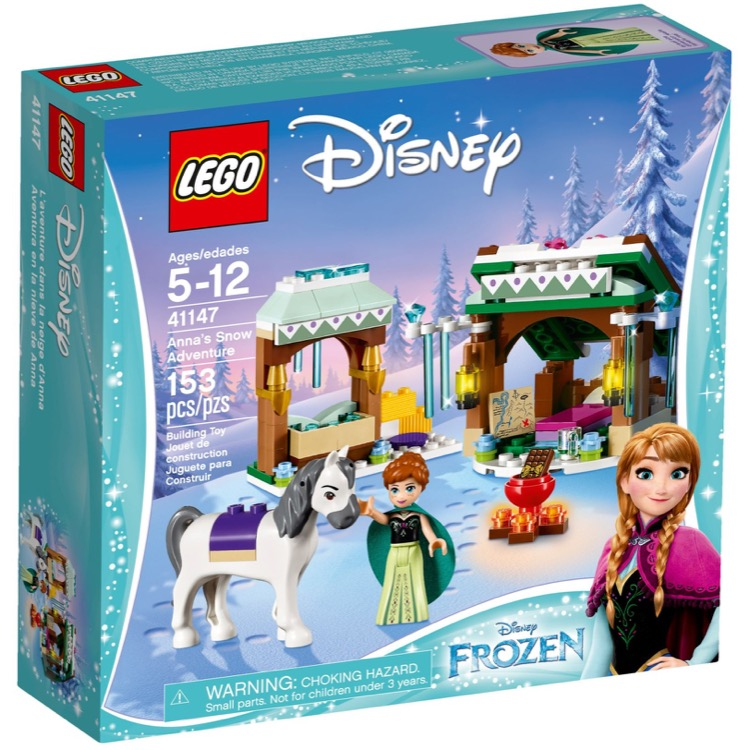 LEGO Disney Princess Sets: 41147 Anna's Snow Adventure NEW