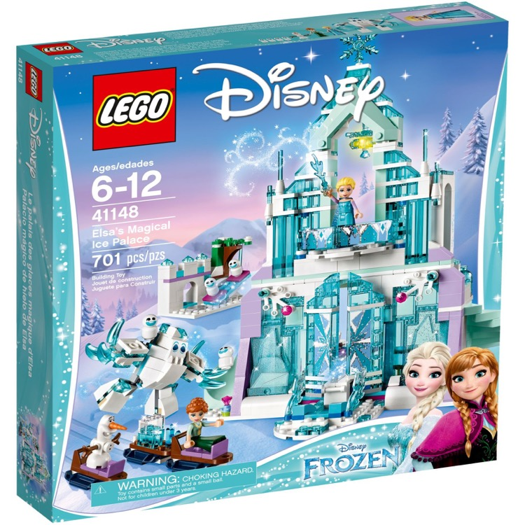 LEGO Disney Princess Sets: 41148 Elsa's Magical Ice Palace NEW