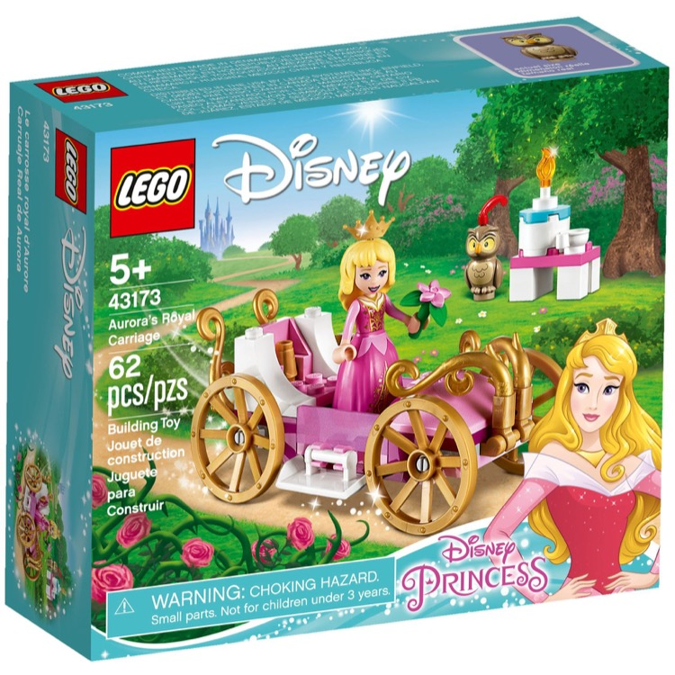 LEGO Disney Princess Sets: 43173 Aurora's Royal Carriage NEW