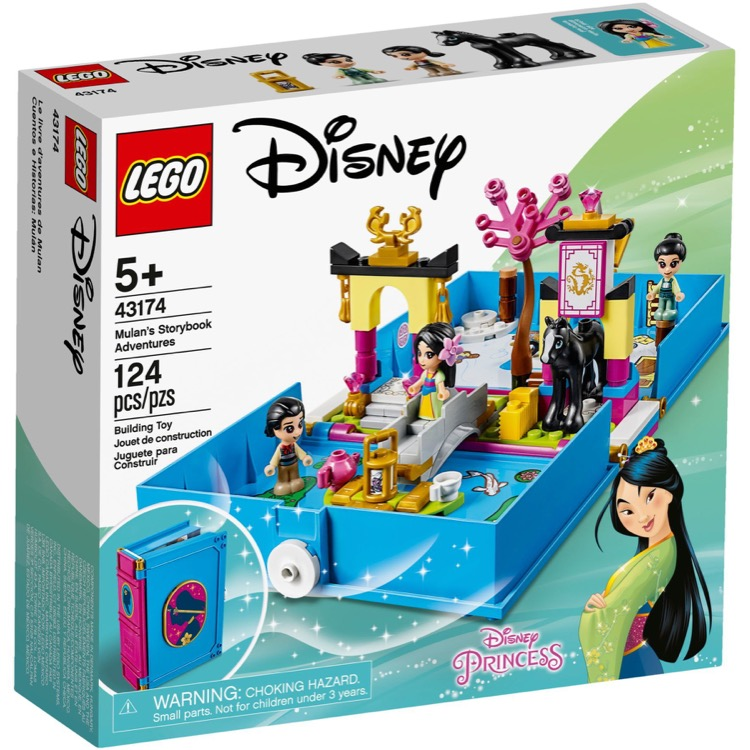 LEGO Disney Princess Sets: 43174 Mulan's Storybook Adventures NEW