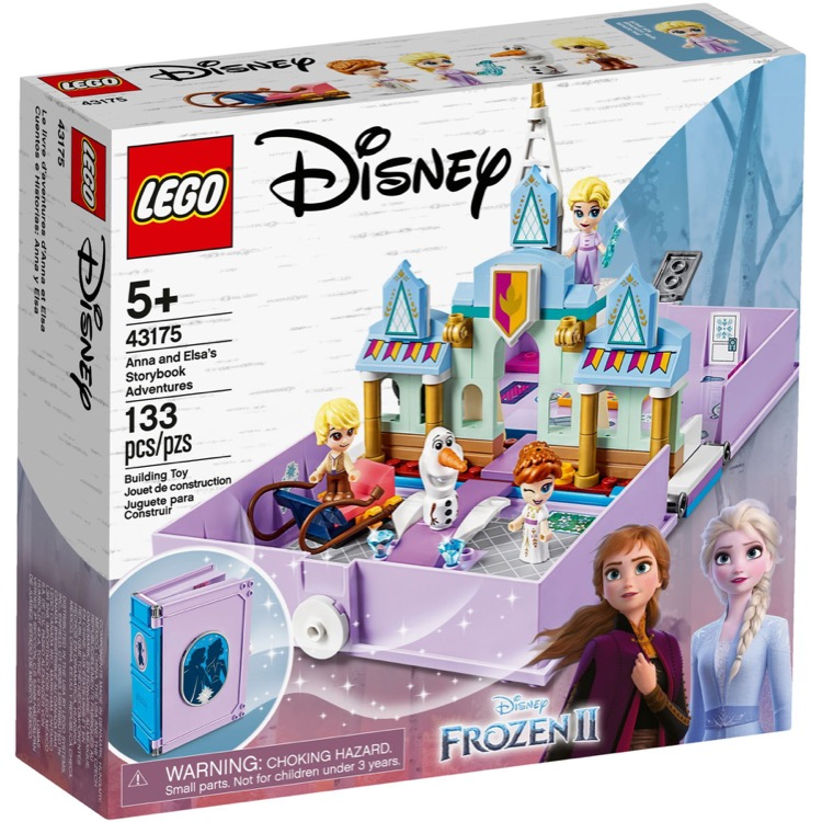 LEGO Disney Princess Sets: 43175 Anna and Elsa's Storybook Adventures NEW