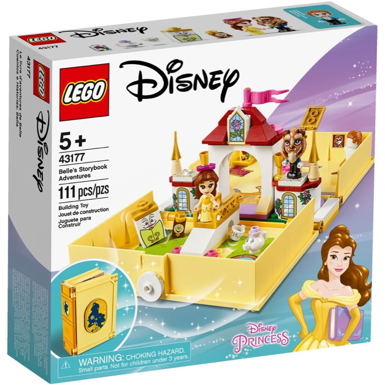 LEGO Disney Princess Sets: 43177 Belle's Storybook Adventures NEW