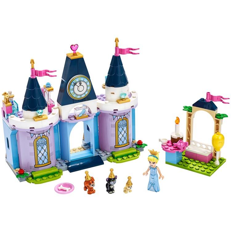 LEGO Disney Princess Sets: 43178 Cinderella's Castle ...