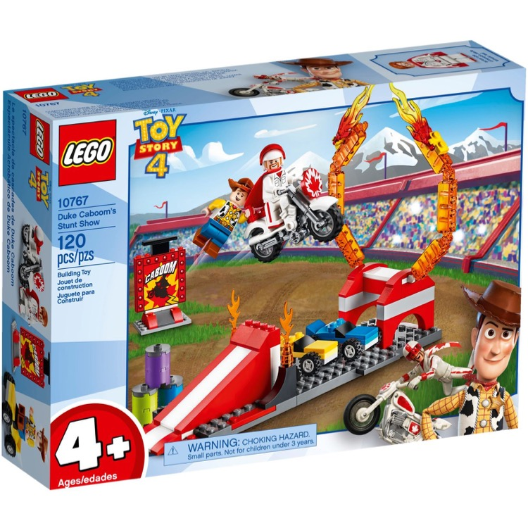 LEGO Disney Toy Story Sets: 10767 Duke Caboom's Stunt Show NEW
