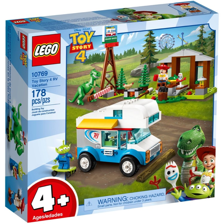 LEGO Disney Toy Story Sets: 10769 RV Vacation NEW