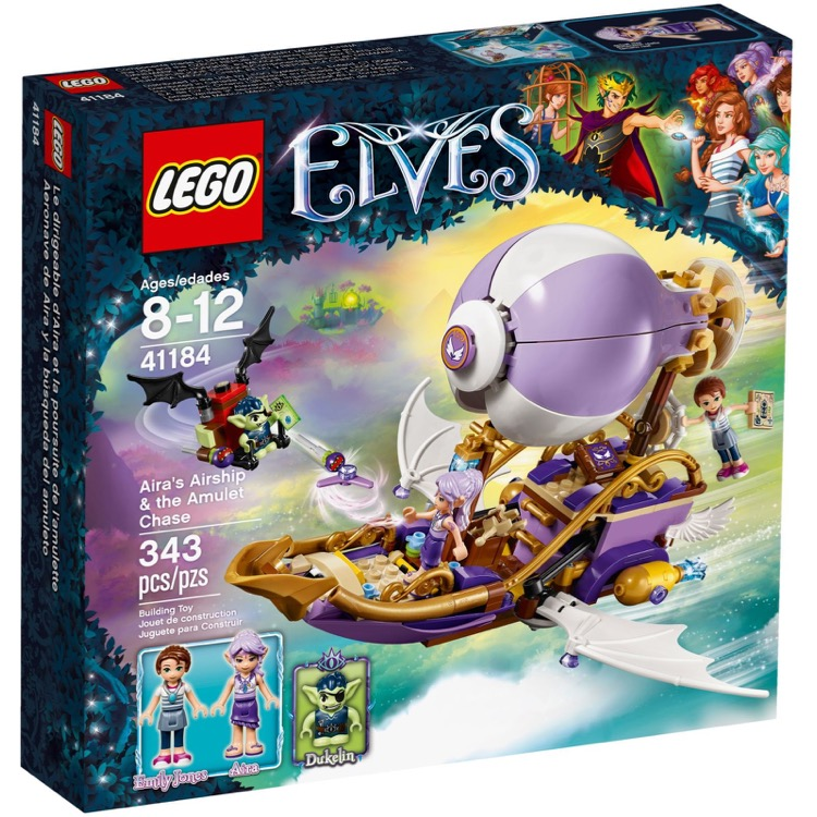 LEGO Elves Sets: 41184 Aira's Airship & the Amulet Chase NEW