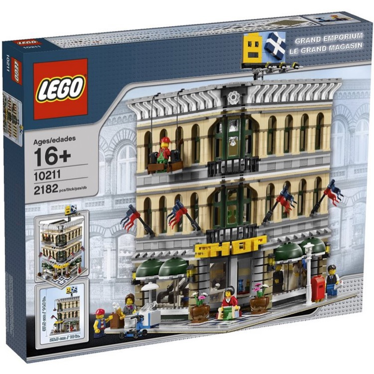 LEGO Exclusives Sets: Modular Buildings 10211 Grand Emporium NEW