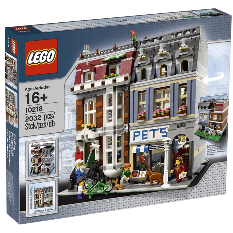 LEGO Exclusives Sets: Modular Buildings 10218 Pet Shop NEW
