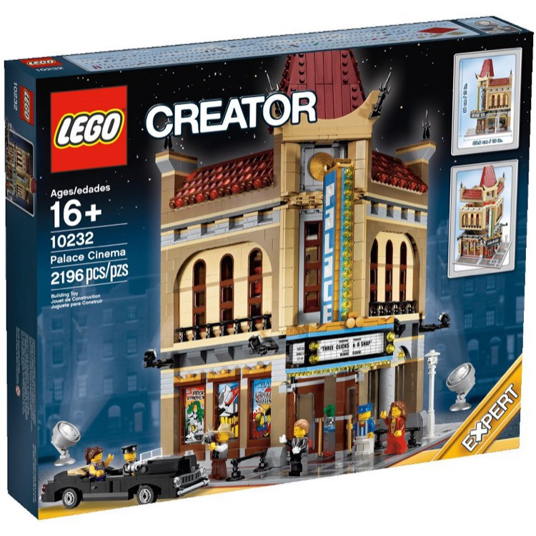 LEGO Exclusives Sets: Modular Buildings 10232 Palace Cinema NEW