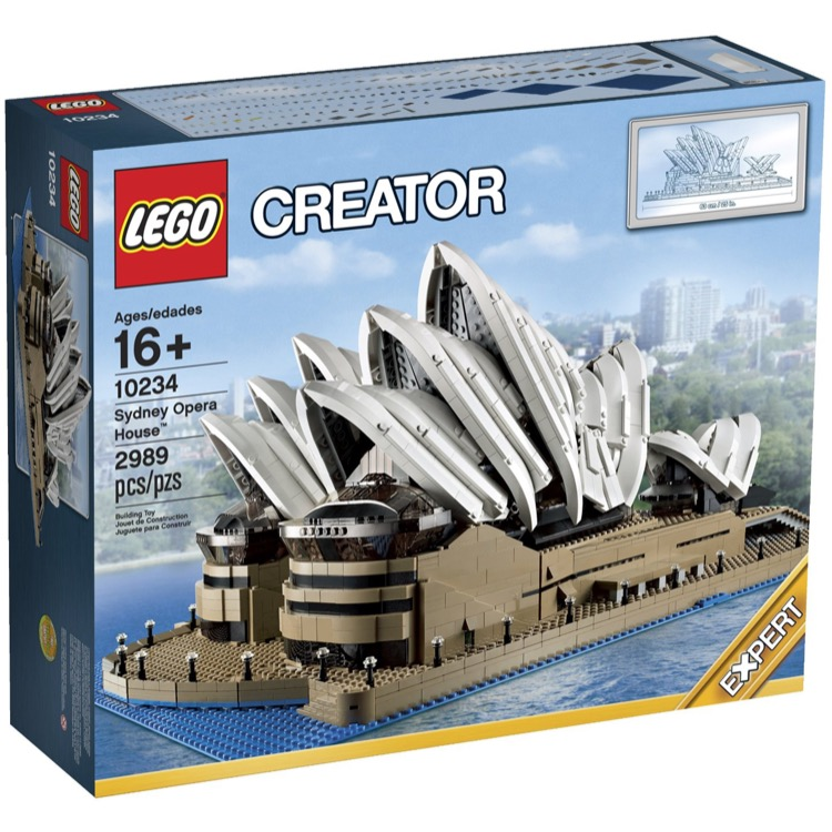 LEGO Exclusives Sets: Advanced Models 10234 Sydney Opera House NEW