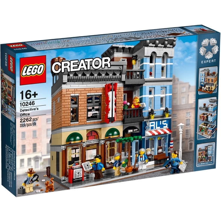 LEGO Exclusives Sets: Modular Buildings 10246 Detective's Office NEW