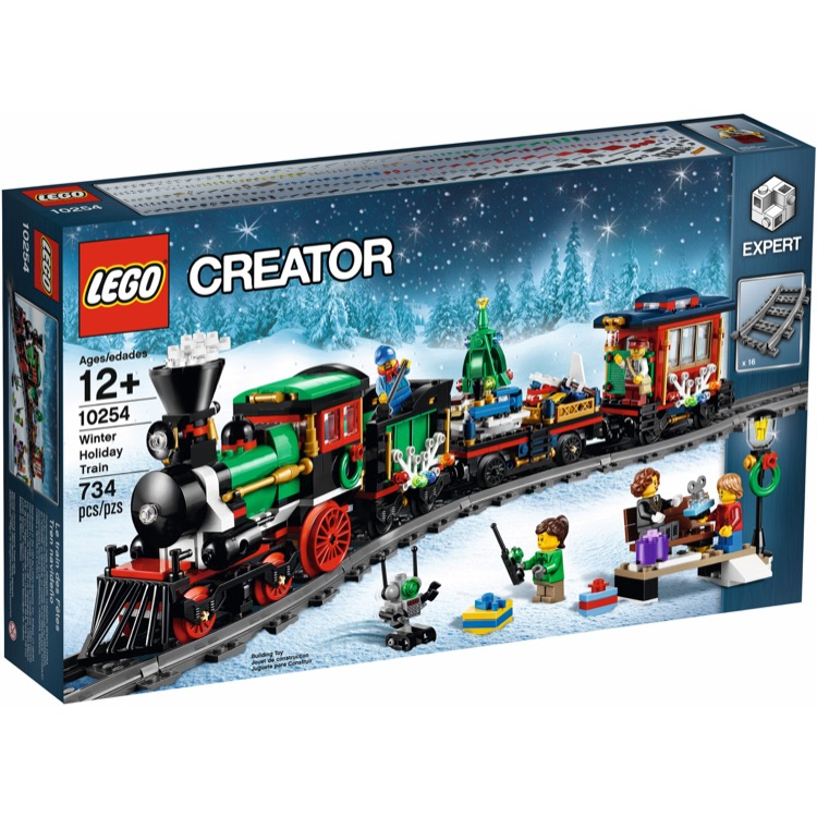 LEGO Exclusives Sets: Advanced Models 10254 Winter Holiday Train NEW