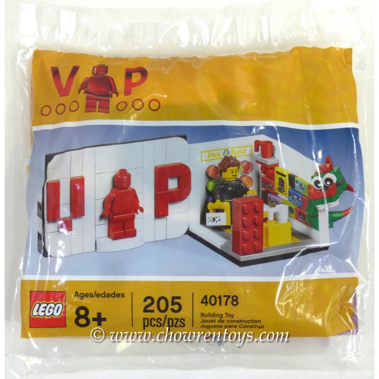 LEGO Exclusives Sets: 40178 Exclusive VIP Set NEW