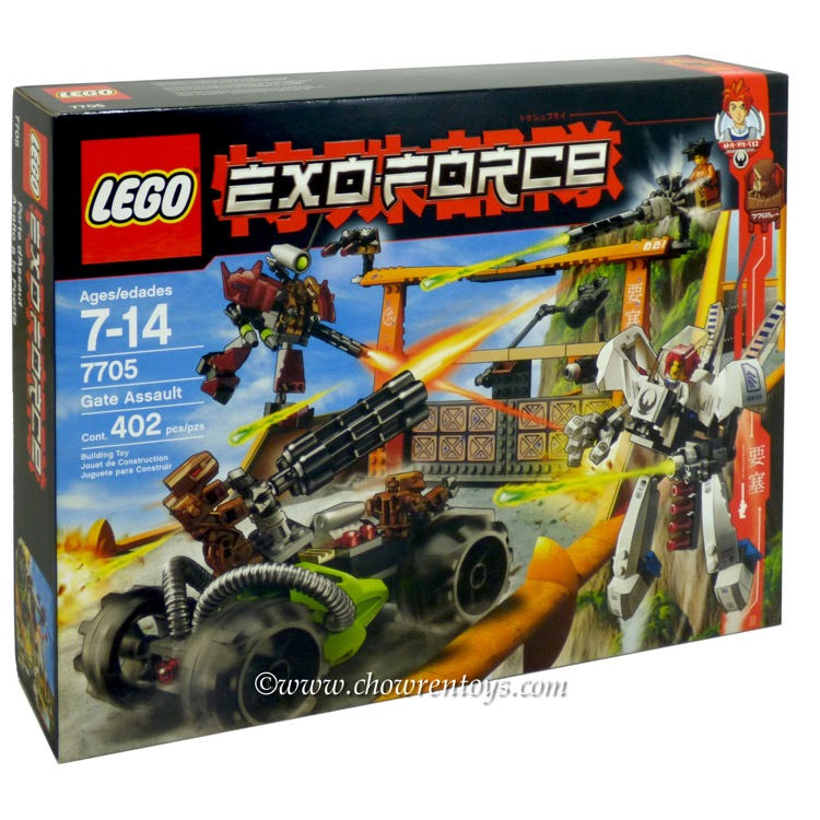 LEGO Exo-Force Sets: 7705 Gate Assault NEW