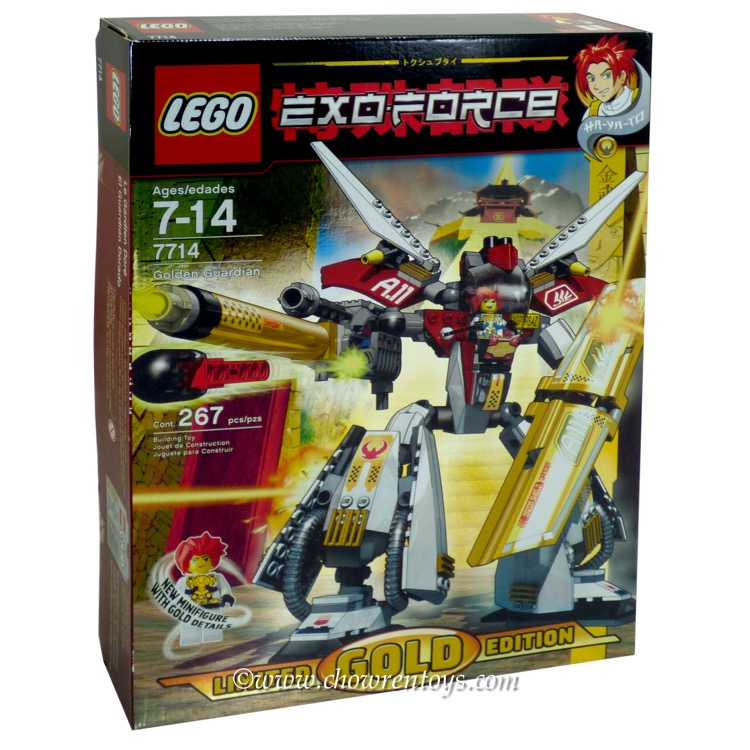 LEGO Exo-Force Sets: 7714 Golden Guardian NEW