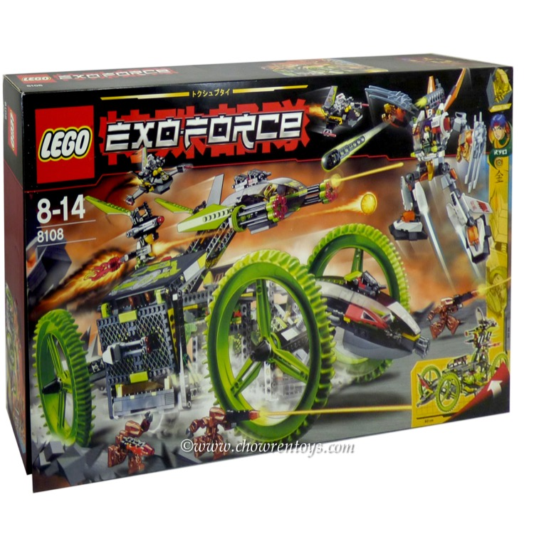 LEGO Exo-Force Sets: 8108 Mobile Devastator NEW