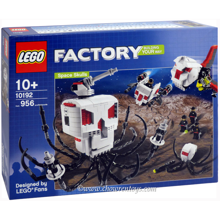LEGO Factory Sets: 10192 Space Skulls NEW