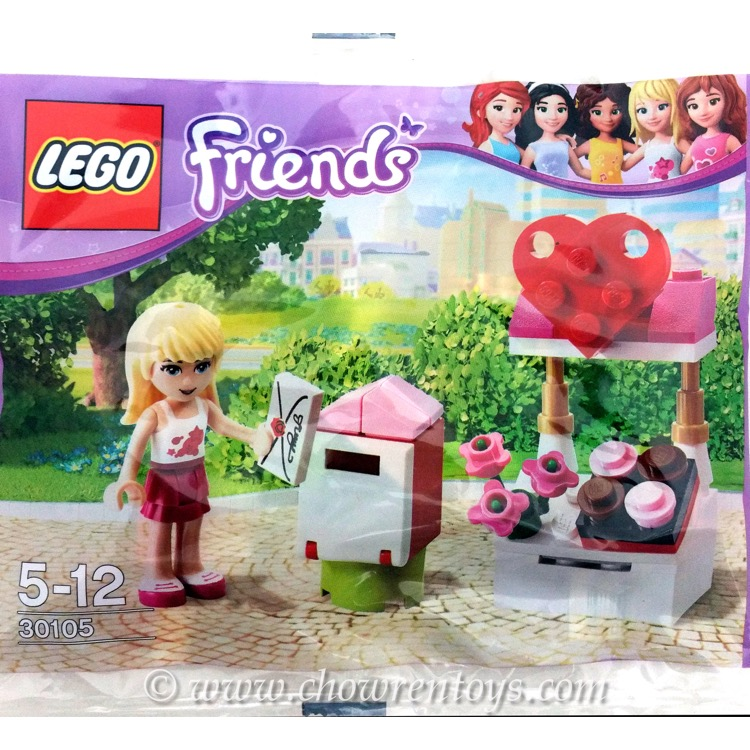 LEGO Friends Sets: 30105 Mailbox NEW