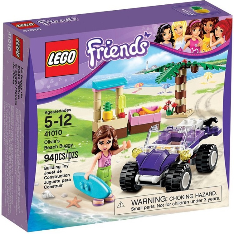 LEGO Friends Sets: 41010 Olivia's Beach Buggy NEW *Rough Shape*