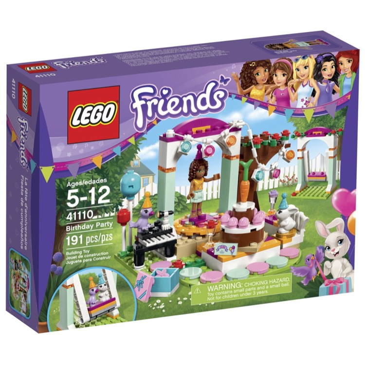 LEGO Friends Sets: 41110 Birthday Party NEW