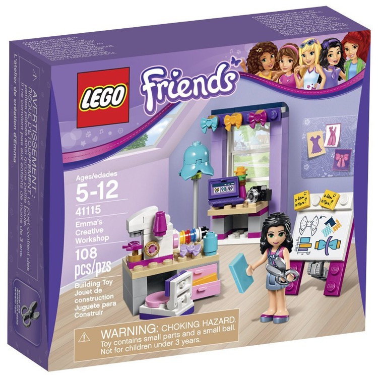 LEGO Friends Sets: 41115 Emma's Creative Workshop NEW